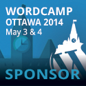 I'm Sponsoring WordCamp Ottawa 2014